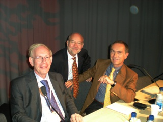 Committee Members Rik Roelandts, Jean Krutmann and Giovanni Leone at the ESPD Photodermatology Day, Gothenburg, Sweden, 2010