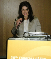 Dr Marie-Claude Marguery at the ESPD Photodermatology Day, Lisbon, October 2011