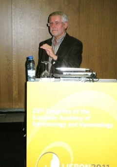 Dr Pierre Thomas at the ESPD Photodermatoloigy Day, Lisbon, October 2011